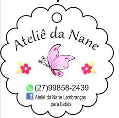 Ateliê da Nane Lembranças para bebês