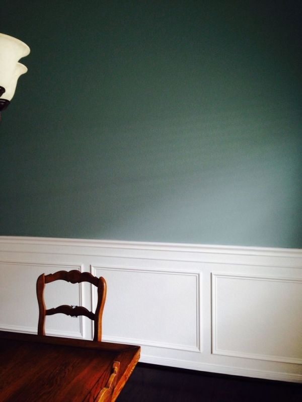 Benjamin Moore Stratton Blue Dining Room By Kelseyinfo