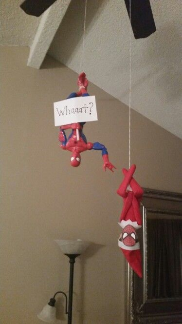 Spiderman Elf - Elf on the shelf