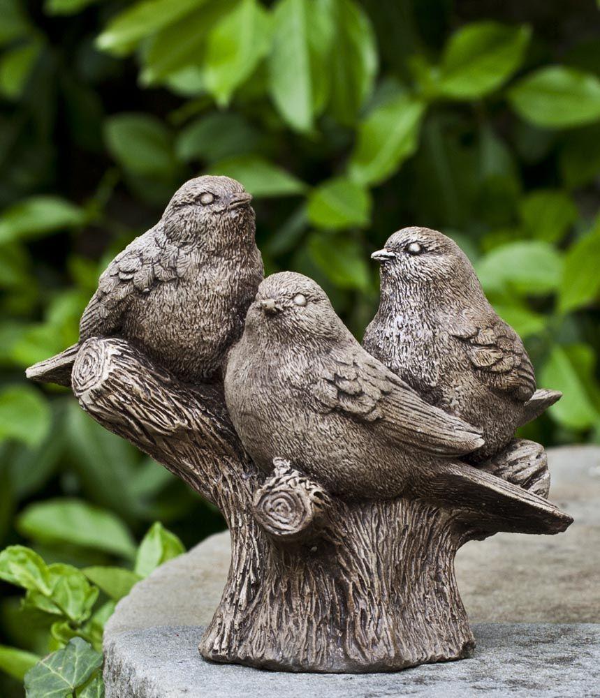 Stone Garden Animals Campania international threes company garden statues garden bird houses workwithnaturefo