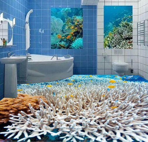 3d Coral Reefs 614 View Floor Wallpaper Mural Floor Mural Wall Floor Wallpaper Floor Murals Mural Wallpaper