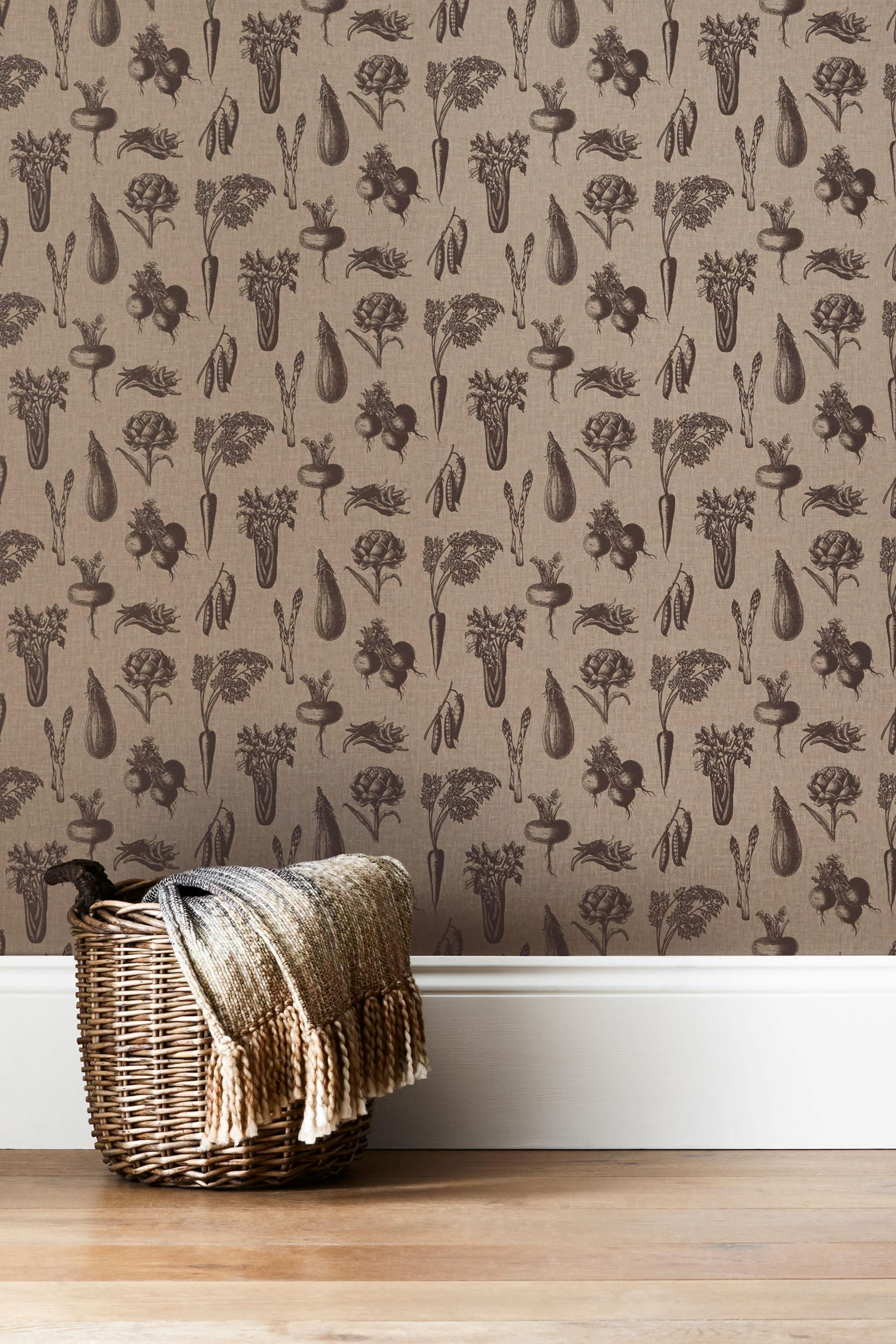 Buy Paste The Wall Vegetable Print Wallpaper From The Next