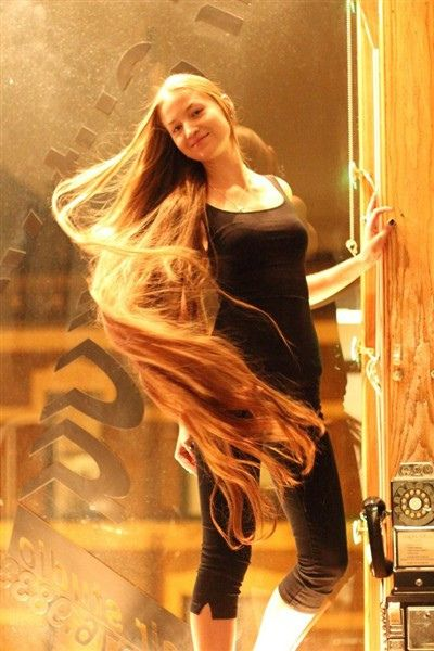Beautiful Long Hair Lange Rote Haare