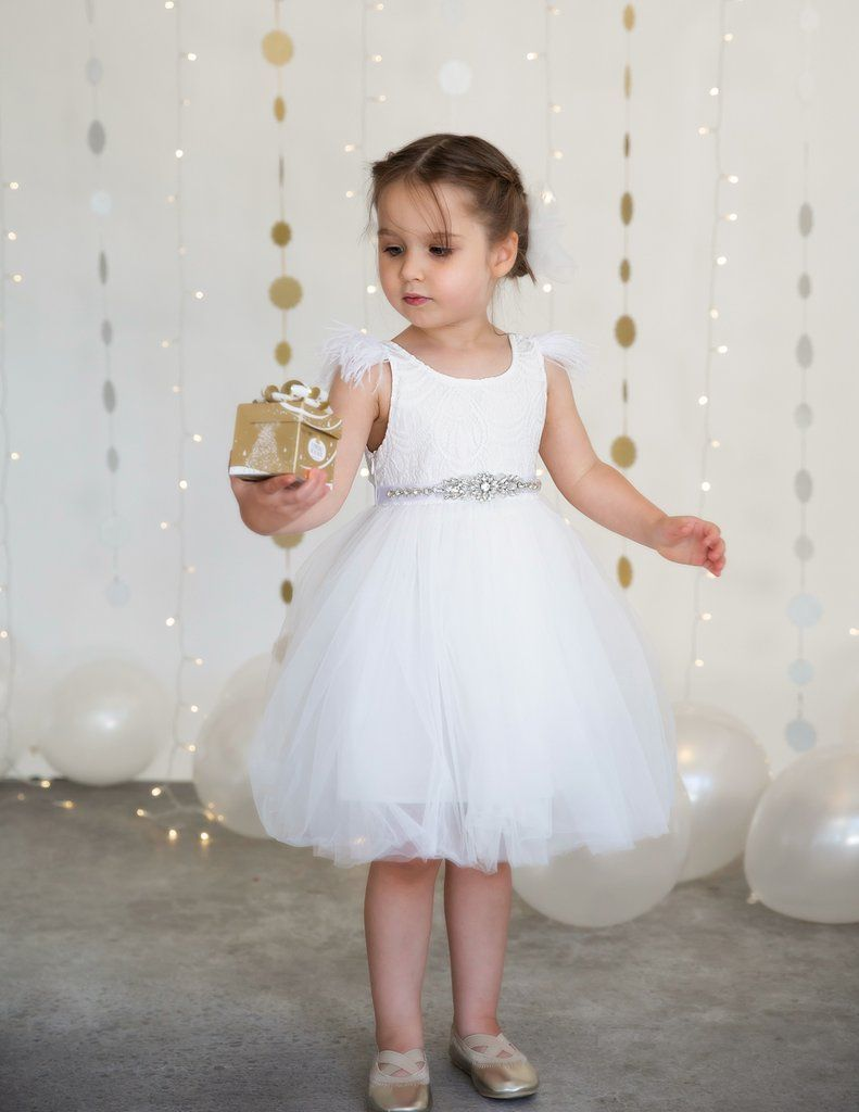a608f15b5 Your little darling will look like a real angel in our new feather, lace,