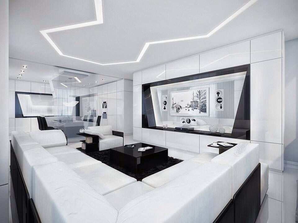 Black and whiteMake perfectly Living room Pinterest Living