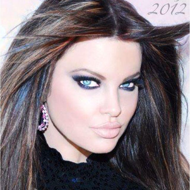 Love the hair n makeup by Alexis Vogel