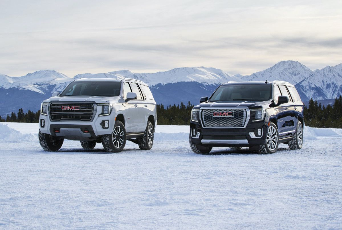 Gmc Unveils The 2021 Yukon In 2020 Gmc Yukon Xl Gmc Yukon Gmc