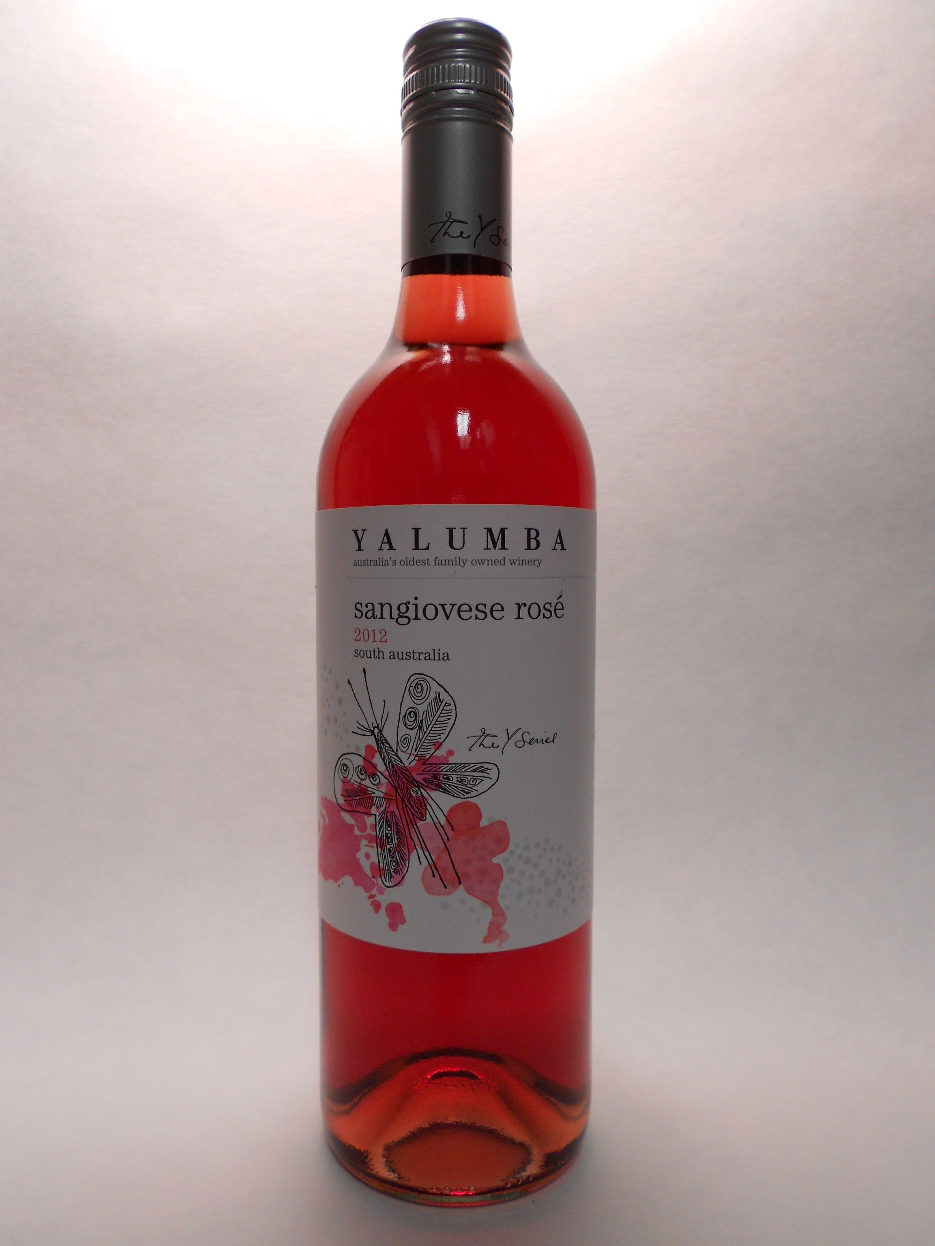 2012 Yalumba Sangiovese South Australia Rose Y Series Sku 61390 Www Bassins Com Phone 202 338 1433 Rose Wine Wine Bottle Different Wines
