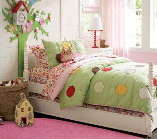 niedliche Kuckucksuhren Dekoration Kinderzimmern Mädchen Bett ...