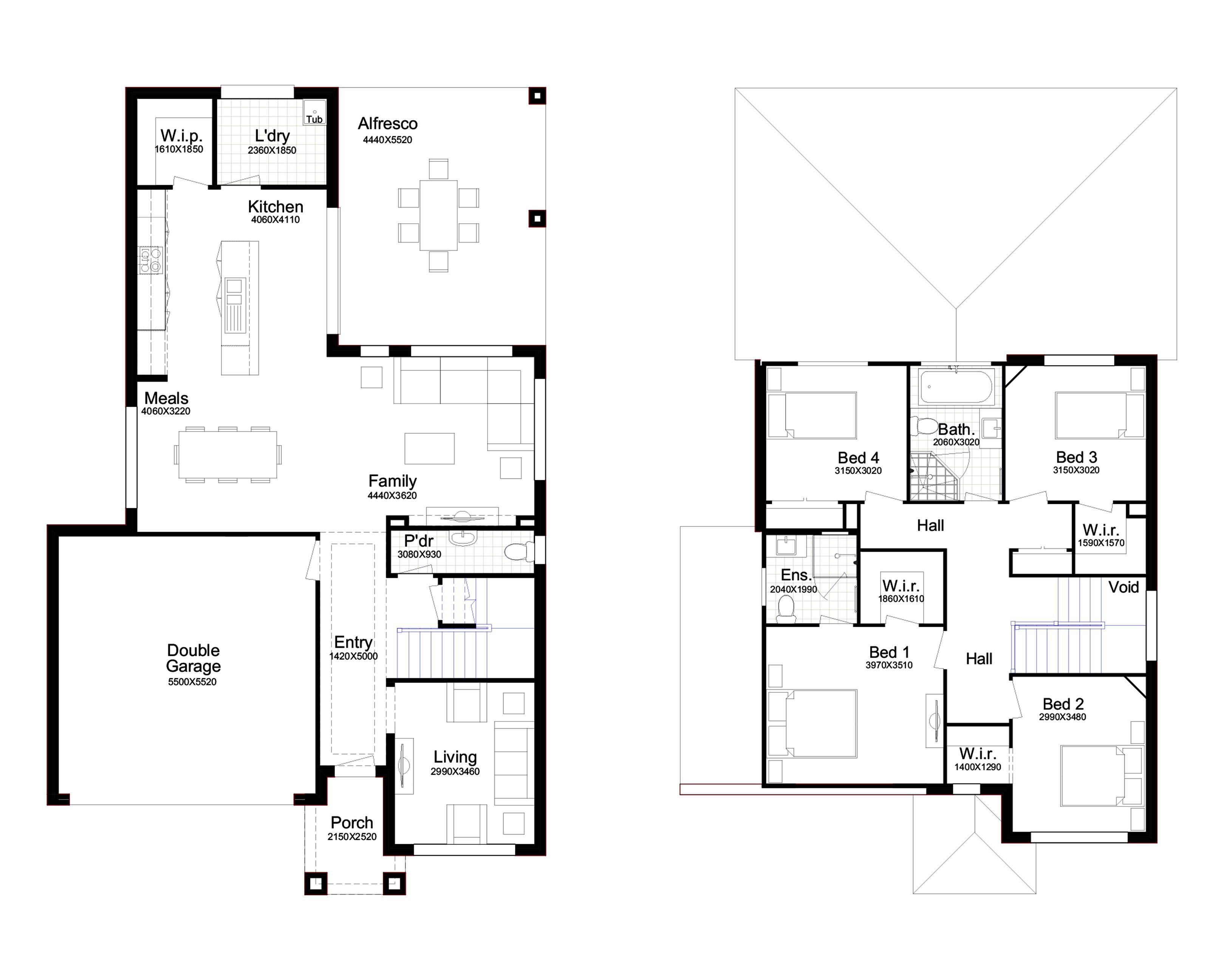 floor plan for belle view 26 blue print in 2019 house plans rh pinterest com