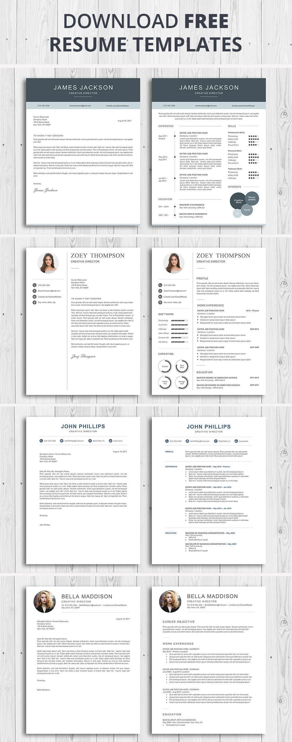 7 Best Free Resume Templates Teacher resume template
