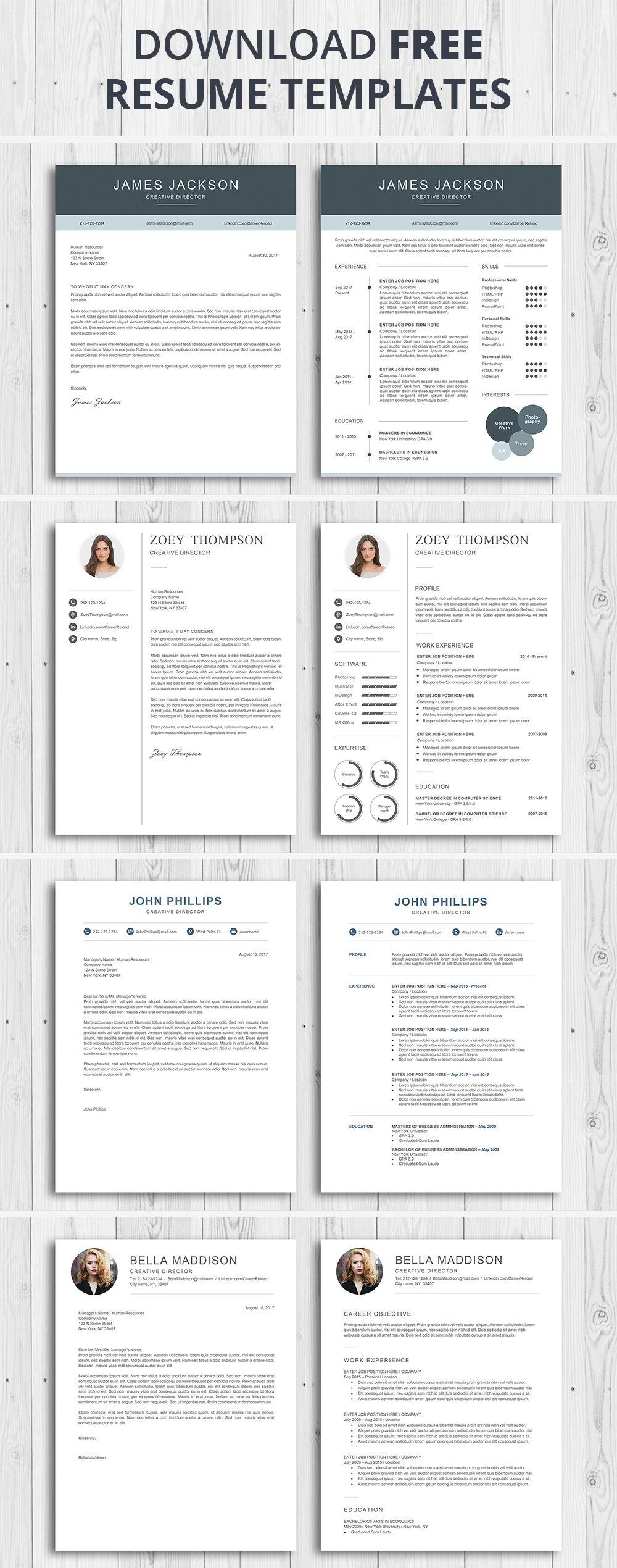 7 Best Free Resume Templates Teacher resume template