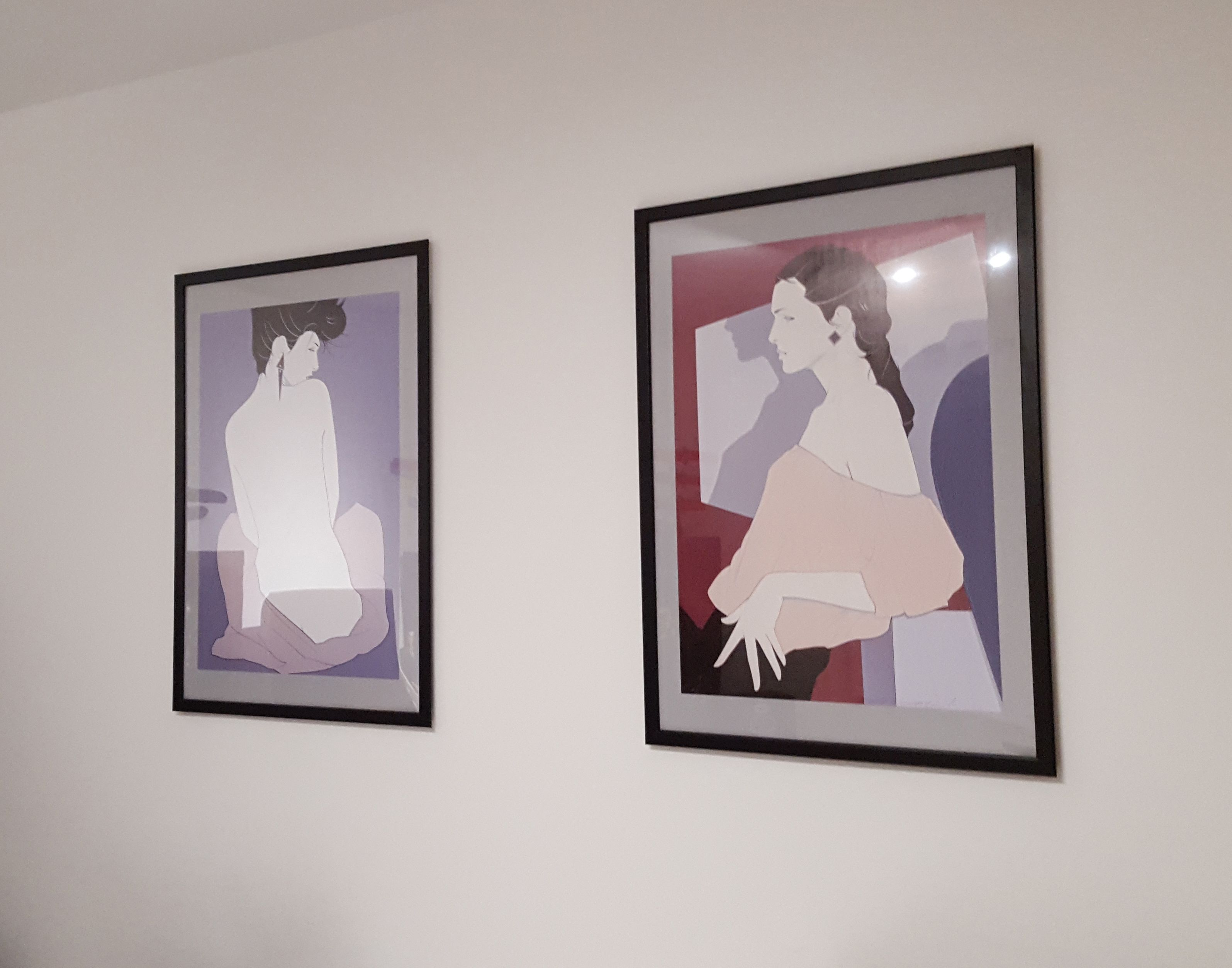 Finally got some Nagel prints on the wall