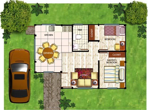 Bungalow house plans in the philippines google search for Floor plan for small house in the philippines