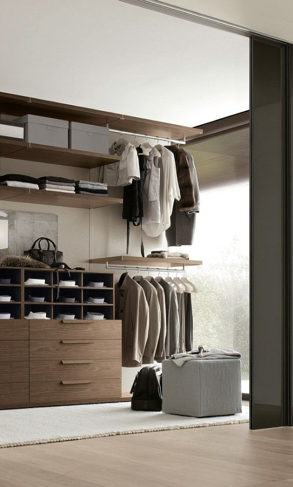 Exclusive walk in closet design from Jesse with