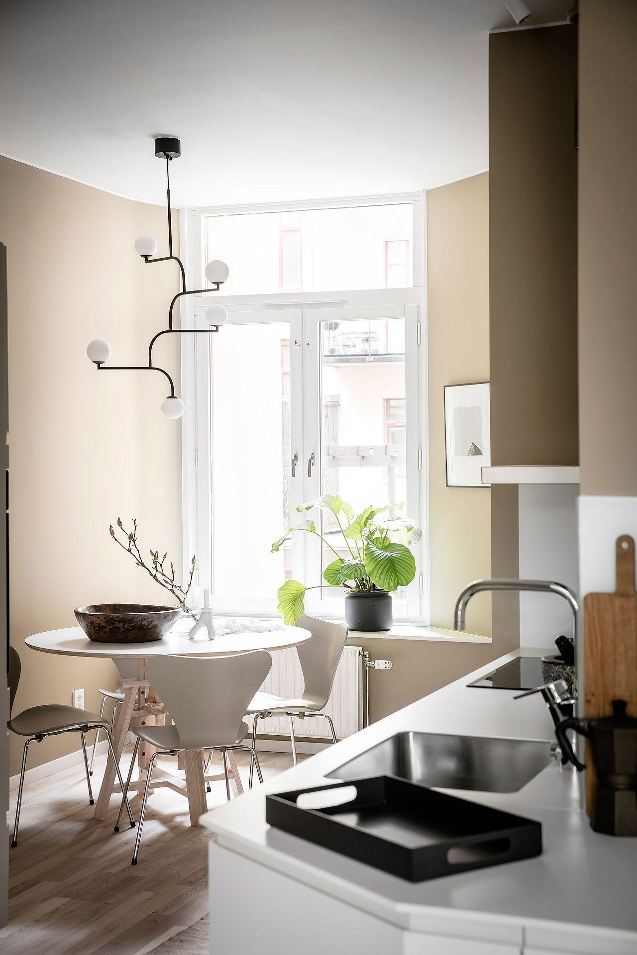 Warm tints of beige, yellow and red | Beige, Scandinavian interior ...