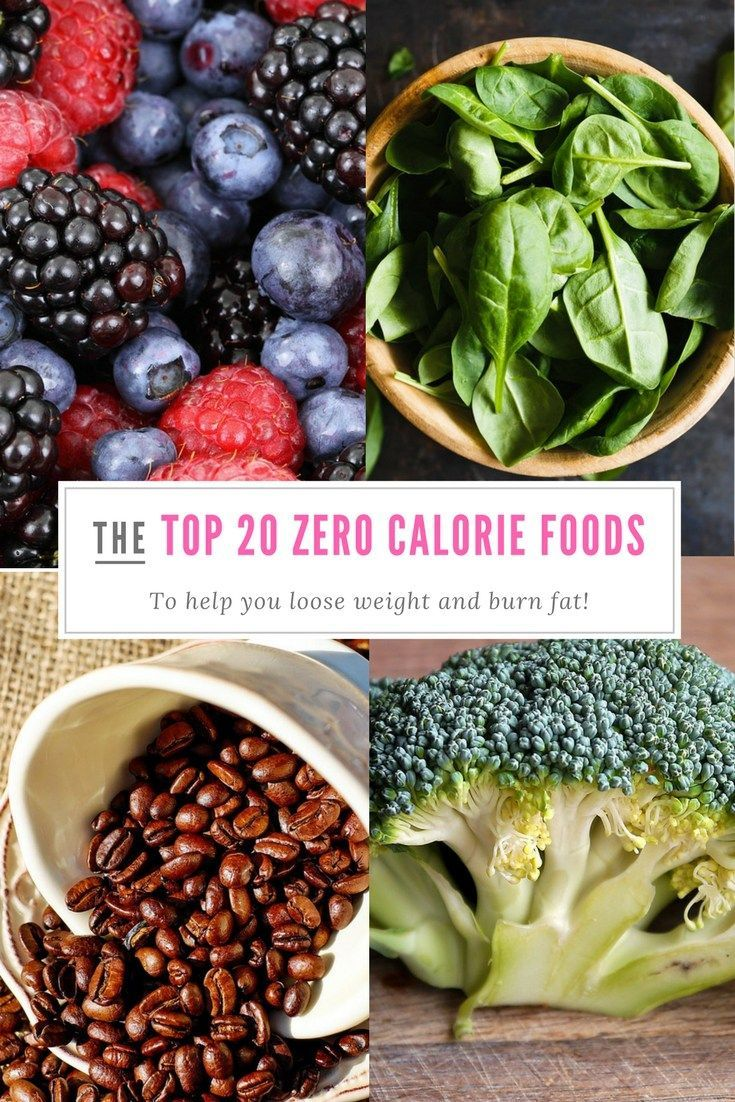 20 zero calorie foods that will make you lose weight everything rh pinterest com