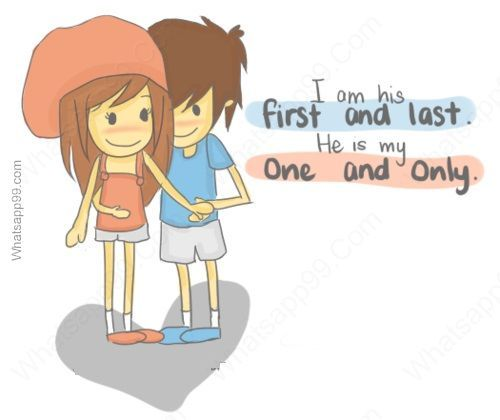 I am your first true love and your last and you are mine