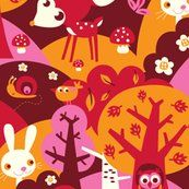 Little Forest Fabric