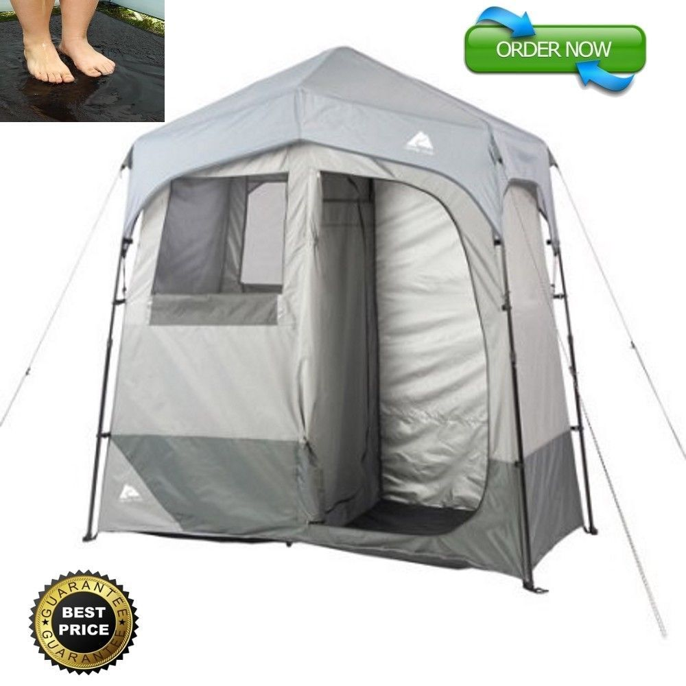 Ozark Trail Room Shower Tent Bathroom Changing Shelter Camping - Camping bathroom tent