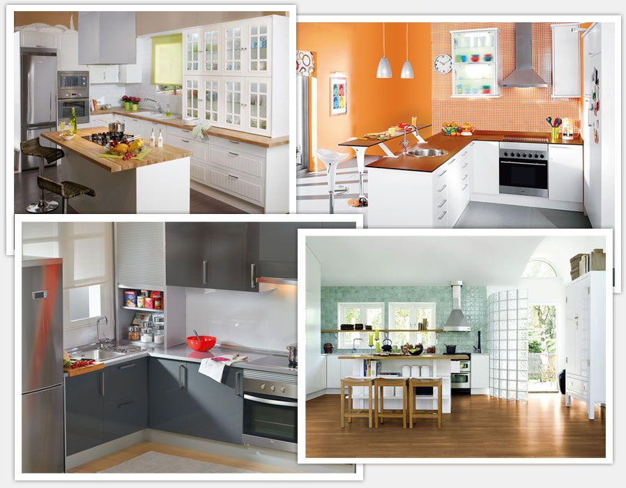 Como cambiar una cocina sin obra buscar con google - Cambiar encimera cocina sin obras ...