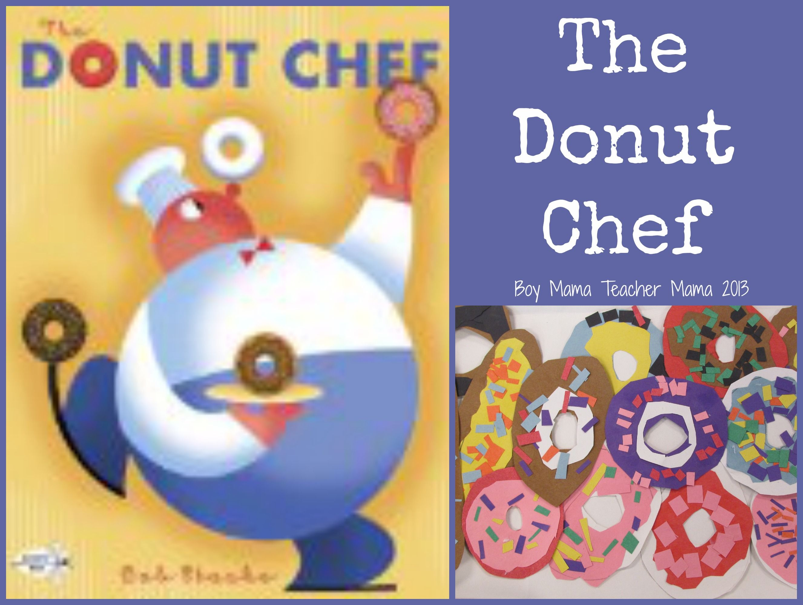 Book Mama Activities For The Donut Chef