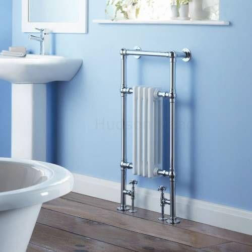 Sèche-serviettes radiateur traditionnel 935 x 465 mm - 550 watts