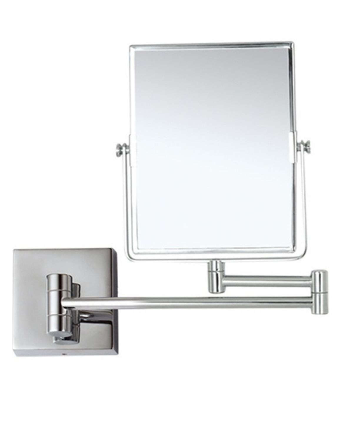 Nameeks Glimmer Double Face 5x Wall Mounted Makeup Mirror