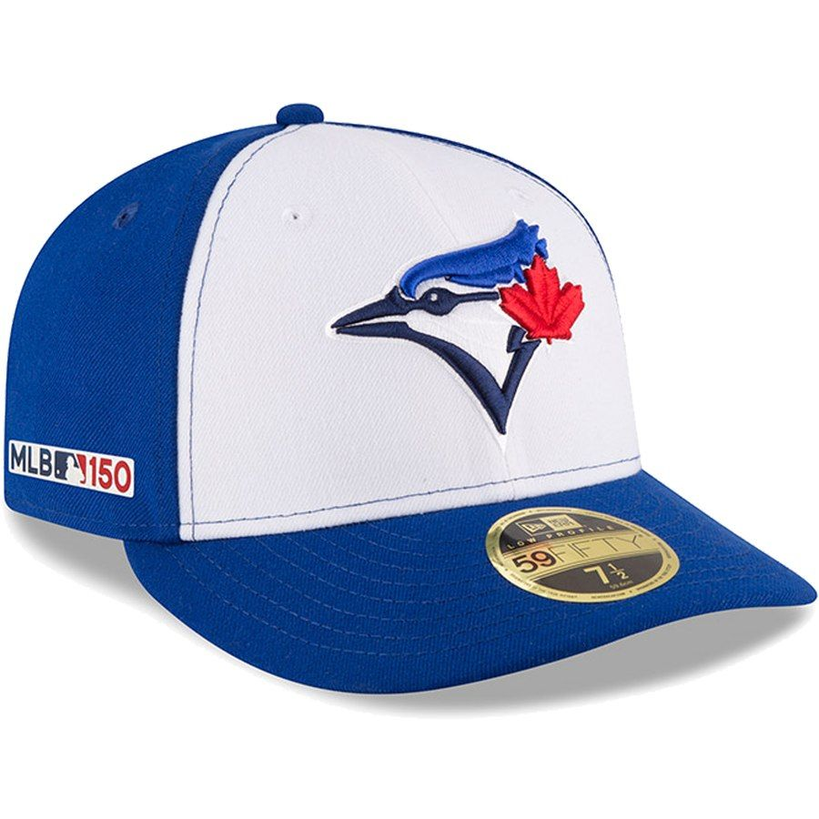 best deals on cute cheap big sale Men's Toronto Blue Jays New Era White/Royal Alternate 3 MLB 150th ...
