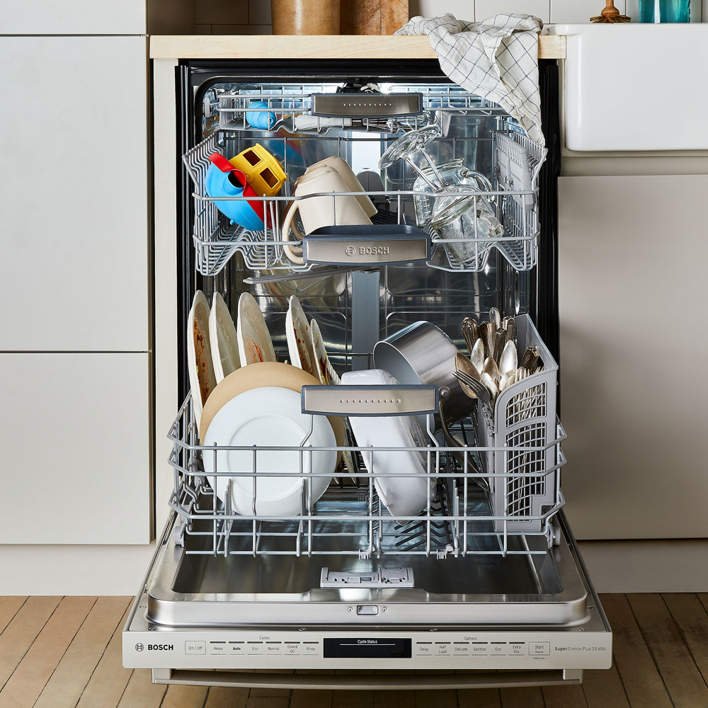4 Tricks for a Perfectly Cleaned Dishwasher (Because it