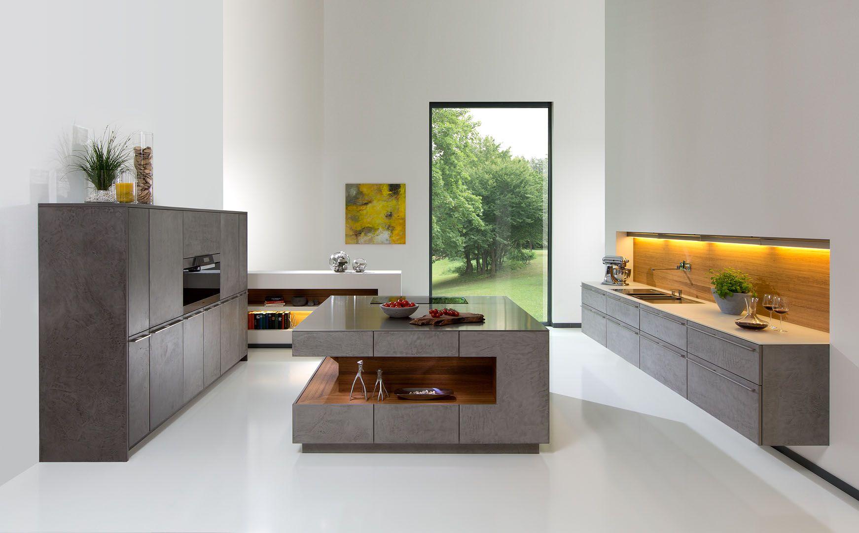 eine moderne Kochinsel für luxuriöse Küchen | Kochinsel, Moderne ...