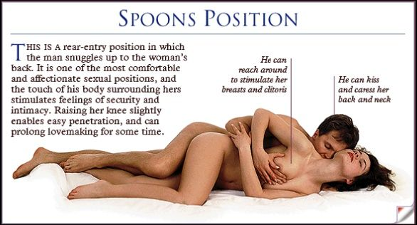 Lazy spoons sexual position — pic 1