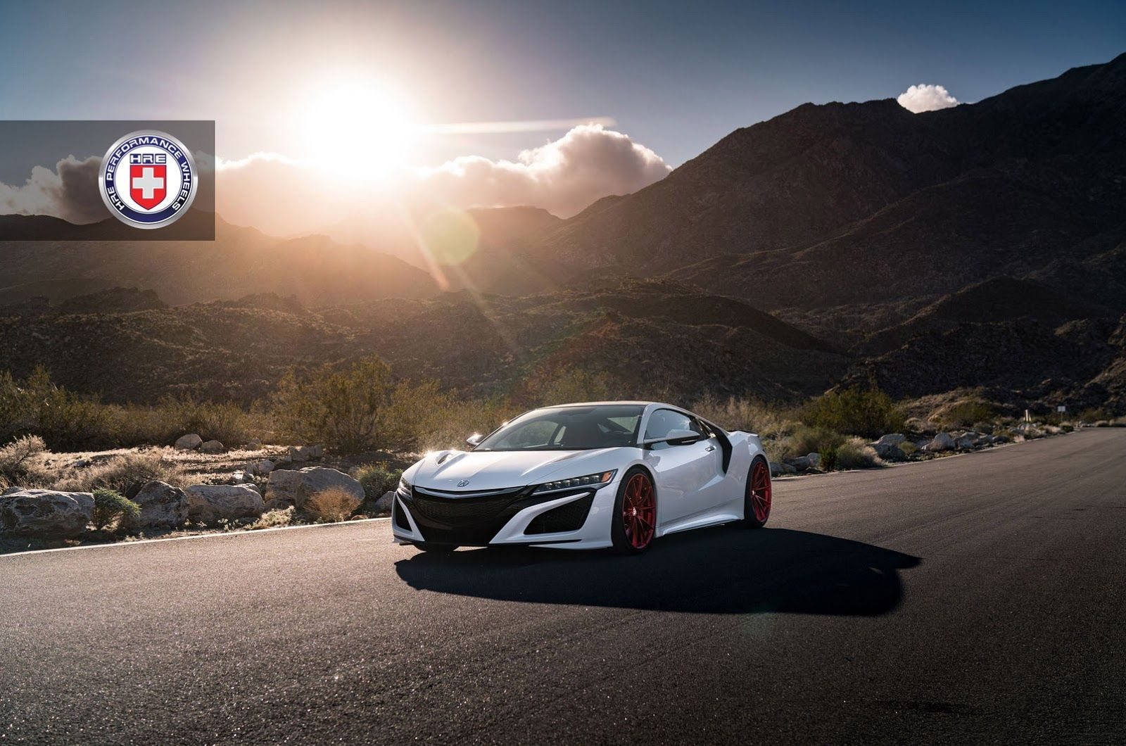 2017 acura nsx on frozen red hre p204 wheels acura pinterest acura nsx and wheels