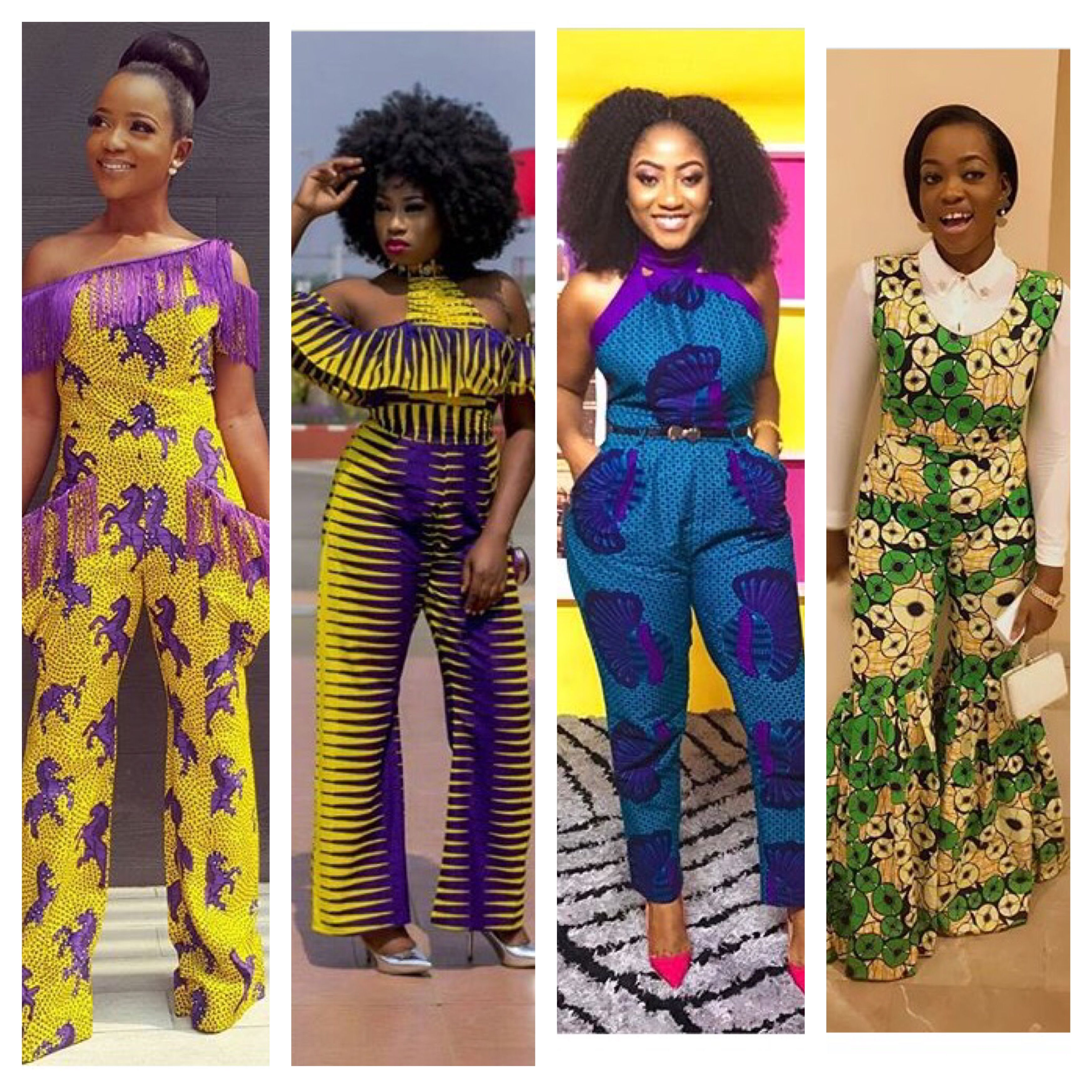 Ankara Jumpsuit Design Is Now Very Common I M Very Much Convinced