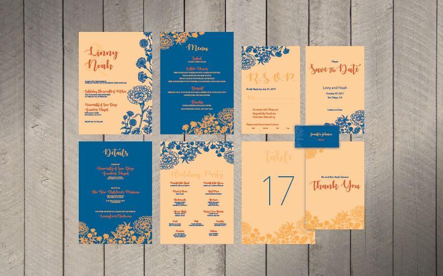 wedding e invite wordings%0A http   mangodesigns org    Wedding Invitation SuiteRsvp WordingMenu