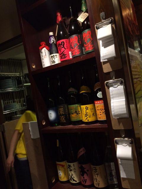 たくさん老松のお酒を揃えていただき感謝します!
