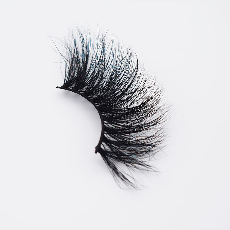 Beauty 5D effect 25mm Real Mink Fur Eyelashes Wholesale