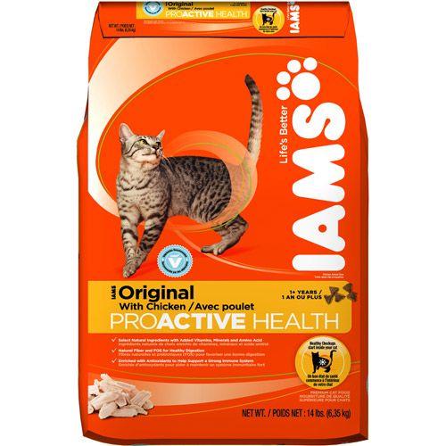 Cat Food Bags Dry Cat Food Bags Iams Proactive Health Dry Cat