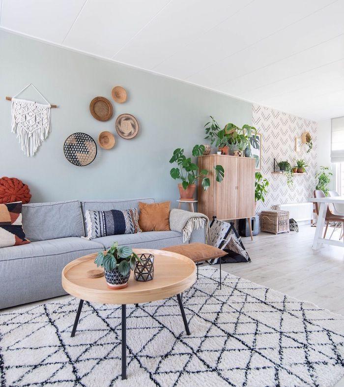 ▷ 1001 + idées de couleur de peinture pour salon lumineux et accueillant