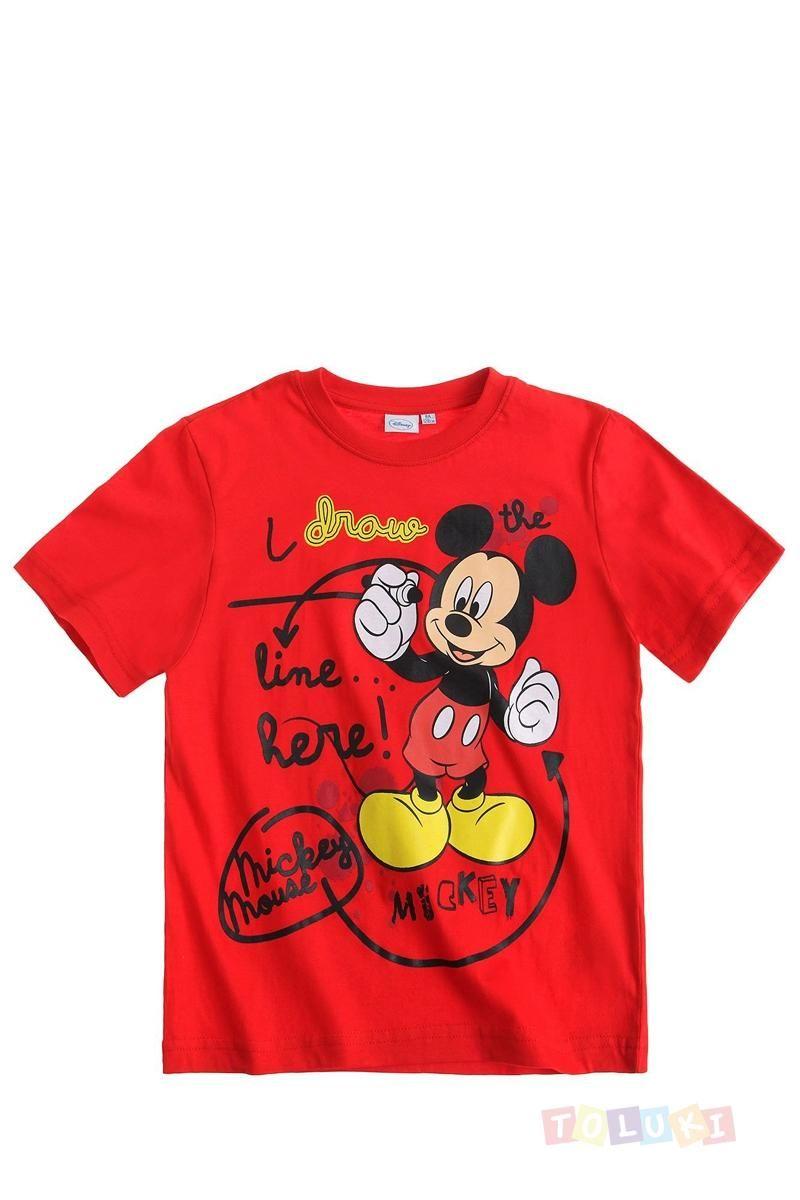 T-shirt #Mickey rouge https://www.toluki.com/prod.php?id=1126 #enfant #Toluki #mode