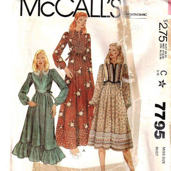 Dress Vogue Sewing Pattern 7795