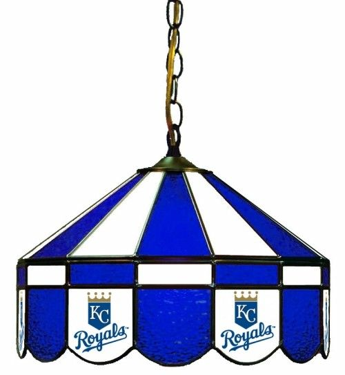Kansas City Royals 16in Pub/Bar Stained Glass Lamp/Light