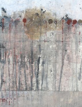 "Saatchi Art Artist Scott Bergey; Painting, ""Double Wammy"" #art"