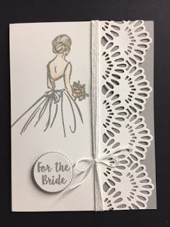 Wonderful Moments, For the Bride Card, 2018-2019 Stampin' Up! Catalog
