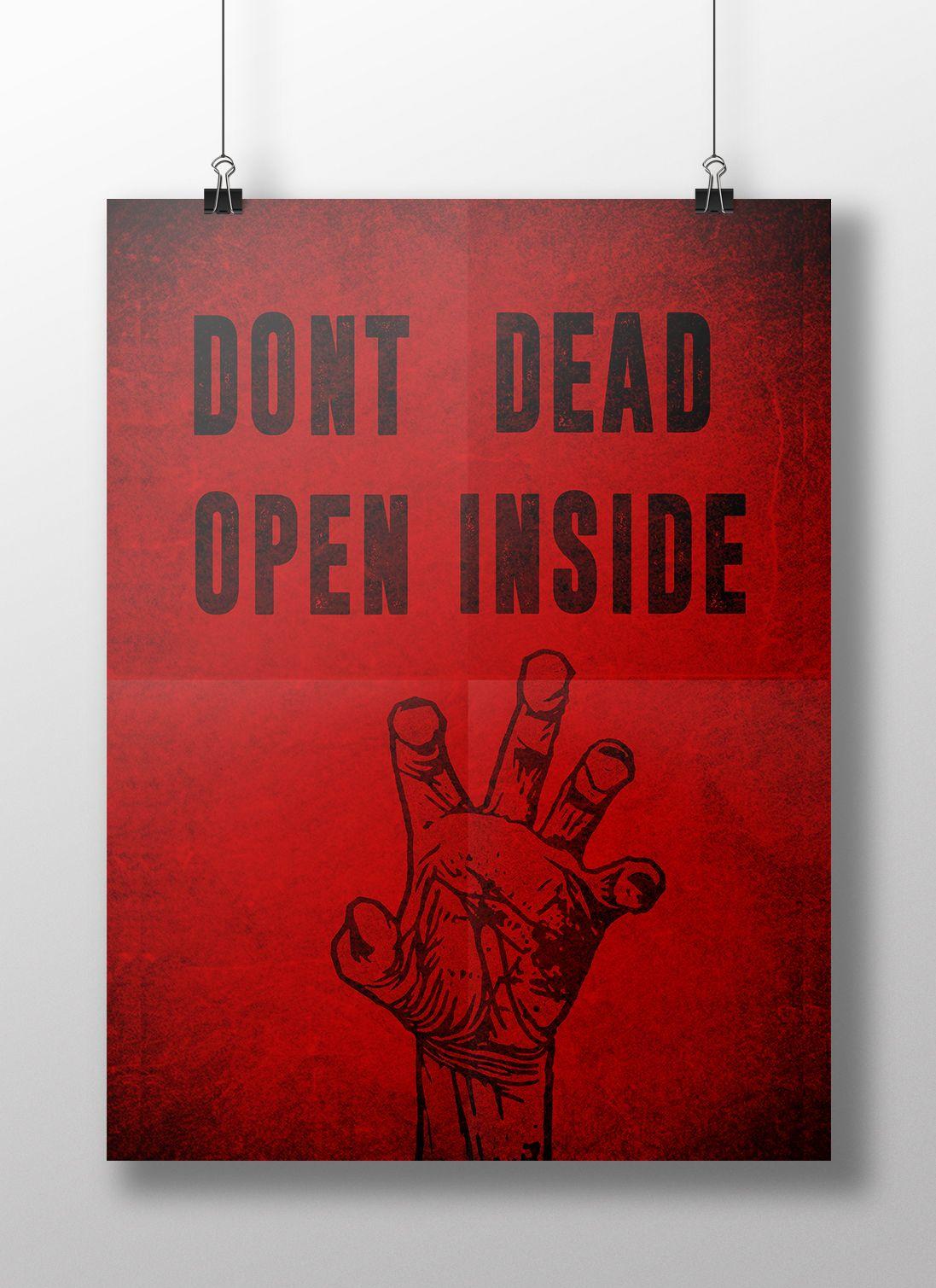 #thewalkingdead #twd #zombies #series #tvshows #decoração #decor #poster #quadro