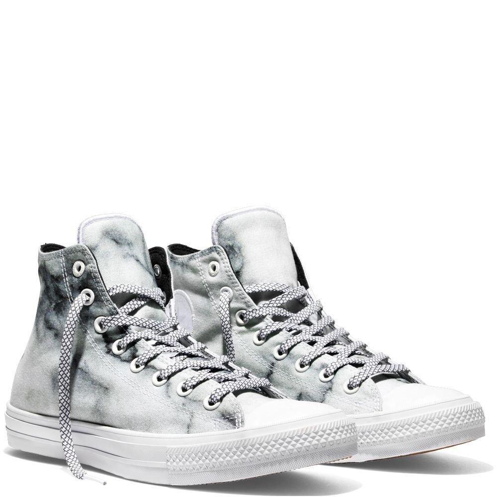 Chuck Taylor All Star Ii Marble White Black White Med