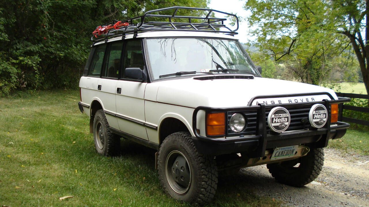 Land Rover Range Rover County Classic Lwb Long Wheel Base Off Road Challenge Roof Rack Off Road Voyager Offroad Range Rover Classic Land Rover Range Rover