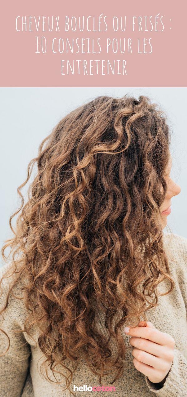 10 conseils pour entretenir ses cheveux frisés ou bouclés