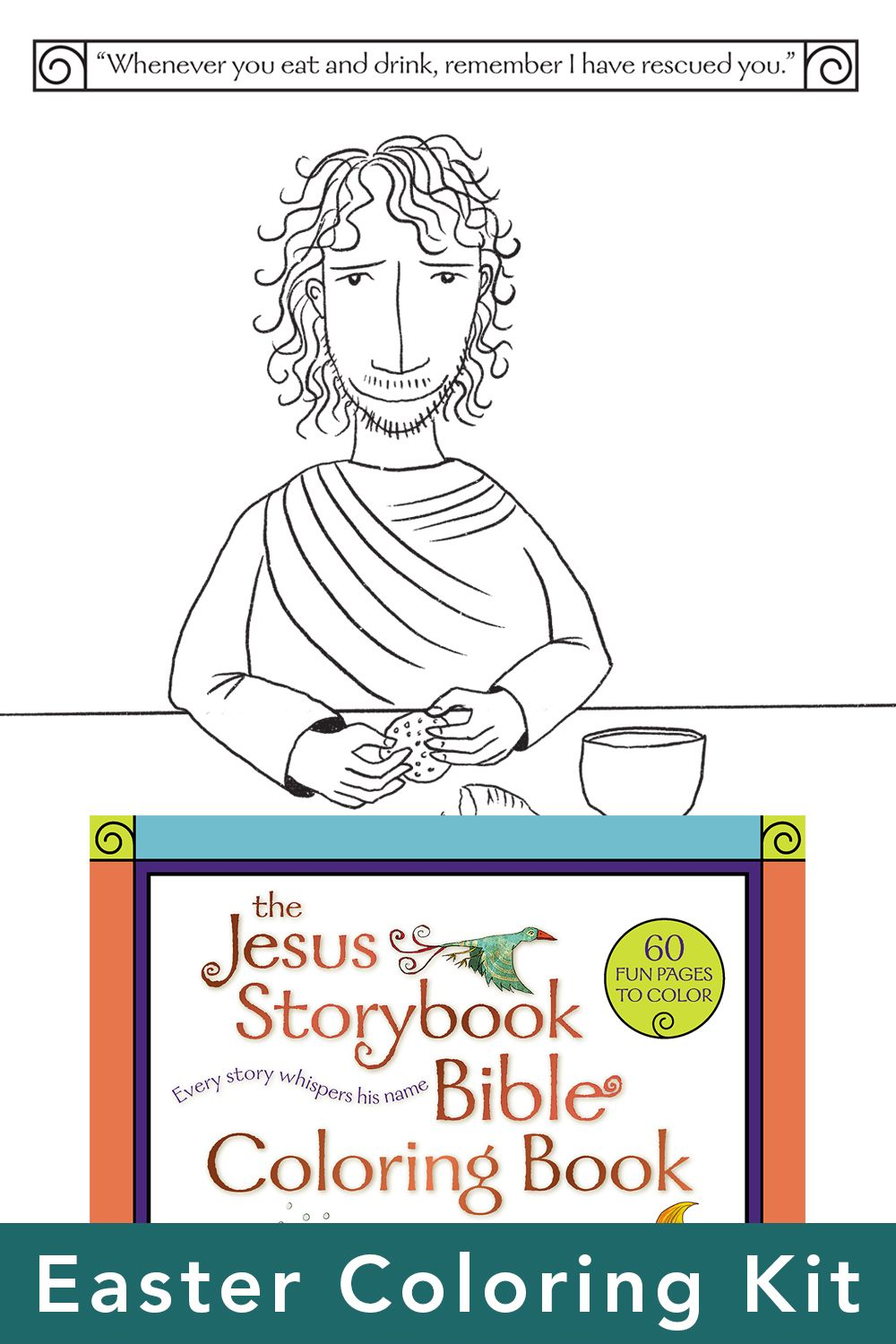 The Jesus Storybook Bible Easter Coloring Kit In 2020 Easter Colouring Bible Lessons For Kids Bible Study For Kids