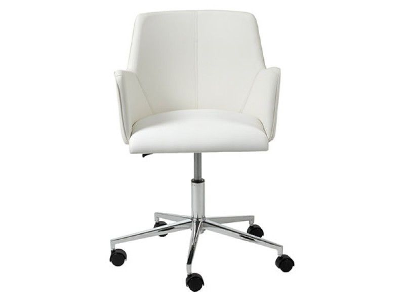 Fino Modern White Leather Office Chair Modern Office Chair